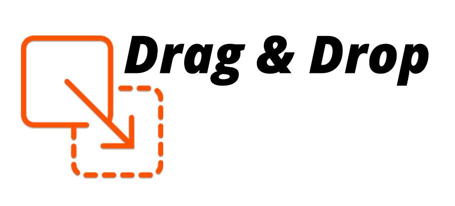 Drag & Drop functie
